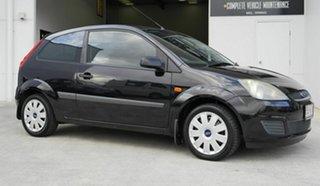 2007 Ford Fiesta WQ LX Black 5 Speed Manual Hatchback.