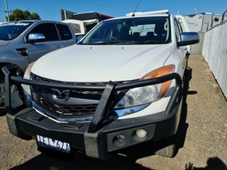 2014 Mazda BT-50 UP0YF1 GT Cool White 6 Speed Sports Automatic Utility.