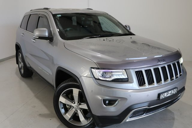 Used Jeep Grand Cherokee WK MY15 Limited Wagga Wagga, 2015 Jeep Grand Cherokee WK MY15 Limited Grey 8 Speed Sports Automatic Wagon