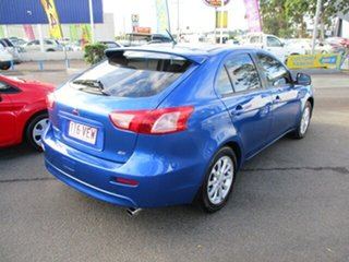 2011 Mitsubishi Lancer SX Blue 5 Speed Manual Sedan