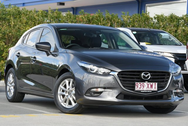 Used Mazda 3 BN5478 Touring SKYACTIV-Drive Aspley, 2017 Mazda 3 BN5478 Touring SKYACTIV-Drive Grey 6 Speed Sports Automatic Hatchback