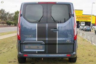 2021 Ford Transit Custom VN 2021.25MY 320S (Low Roof) Sport Blue 6 Speed Automatic Van.