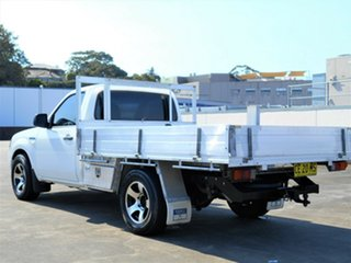 2007 Ford Ranger PJ XL White 5 Speed Manual Cab Chassis