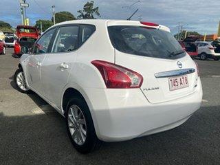 2014 Nissan Pulsar C12 ST Washington White 1 Speed Constant Variable Hatchback