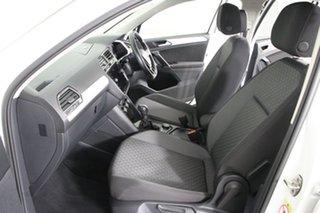 2018 Volkswagen Tiguan 5NA MY18 110 TDI Comfortline White 7 Speed Auto Direct Shift Wagon