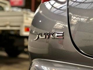 2013 Nissan Juke F15 MY14 ST 2WD Grey 1 Speed Constant Variable Hatchback