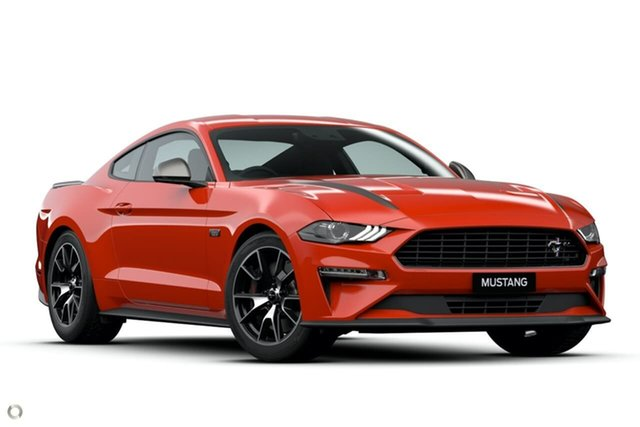 New Ford Mustang FN 2020MY High Performance RWD Oakleigh, 2020 Ford Mustang FN 2020MY High Performance RWD Red 10 Speed Sports Automatic Fastback