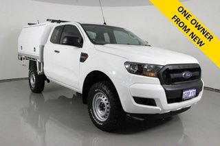 2016 Ford Ranger PX MkII MY17 XL 2.2 Hi-Rider (4x2) White 6 Speed Automatic Super Cab Chassis