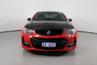 2017 Holden Commodore VF II SS-V Redline Red 6 Speed Automatic Sedan.