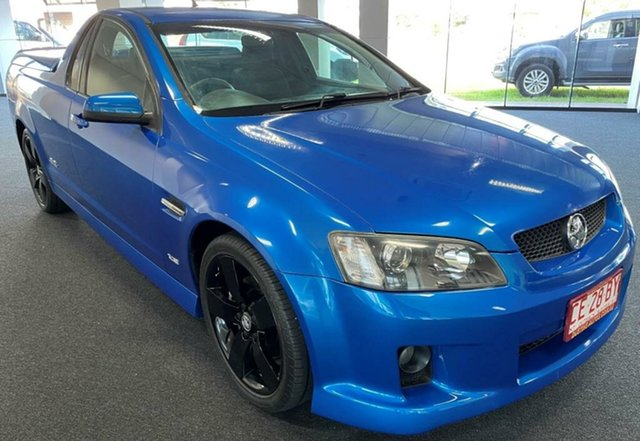 Used Holden Ute VE MY10 SS V Winnellie, 2009 Holden Ute VE MY10 SS V Blue 6 Speed Manual Utility