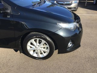 2012 Toyota Corolla ZRE182R Ascent Sport Black 6 Speed Manual Hatchback.