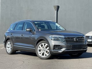 2020 Volkswagen Touareg CR MY21 210TDI Tiptronic 4MOTION Elegance Grey 8 Speed Sports Automatic.