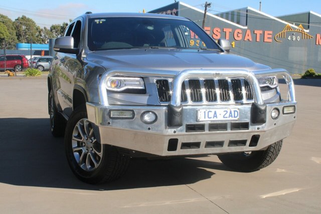 Used Jeep Grand Cherokee WK MY15 Laredo (4x4) West Footscray, 2014 Jeep Grand Cherokee WK MY15 Laredo (4x4) 8 Speed Automatic Wagon