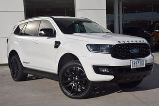 2020 Ford Everest UA II 2020.25MY Sport White 10 Speed Sports Automatic SUV.