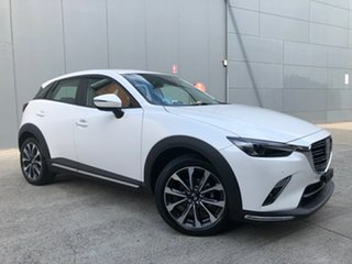 2021 Mazda CX-3 DK2W7A Akari SKYACTIV-Drive FWD Snowflake White 6 Speed Sports Automatic Wagon.