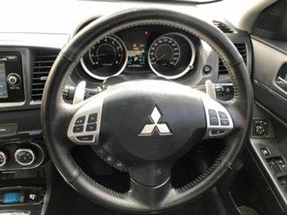 2014 Mitsubishi Lancer CJ MY15 GSR Sportback Black 6 Speed Constant Variable Hatchback