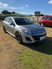 2010 Mazda 3 BL10F1 MY10 Maxx Activematic Sport Silver 5 Speed Sports Automatic Hatchback.