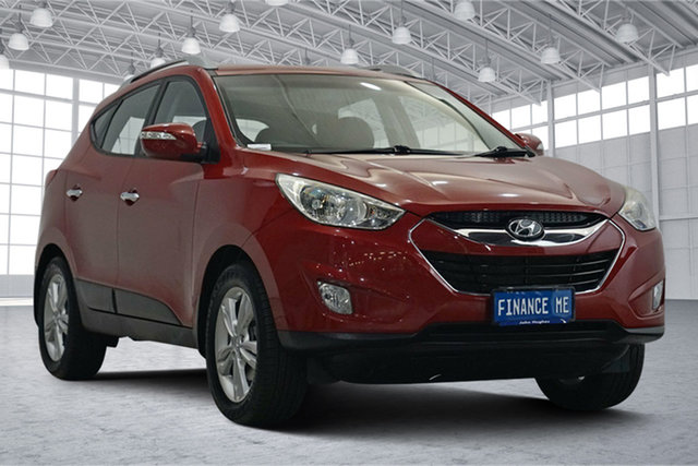Used Hyundai ix35 LM2 SE Victoria Park, 2013 Hyundai ix35 LM2 SE Red 6 Speed Sports Automatic Wagon