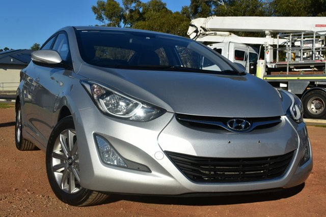 Used Hyundai Elantra MD3 SE St Marys, 2014 Hyundai Elantra MD3 SE Silver 6 Speed Sports Automatic Sedan