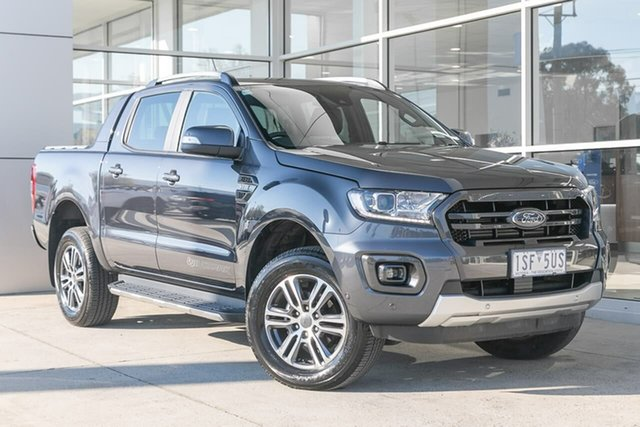 Used Ford Ranger PX MkIII 2020.75MY Wildtrak Ferntree Gully, 2020 Ford Ranger PX MkIII 2020.75MY Wildtrak Grey 6 Speed Sports Automatic Double Cab Pick Up