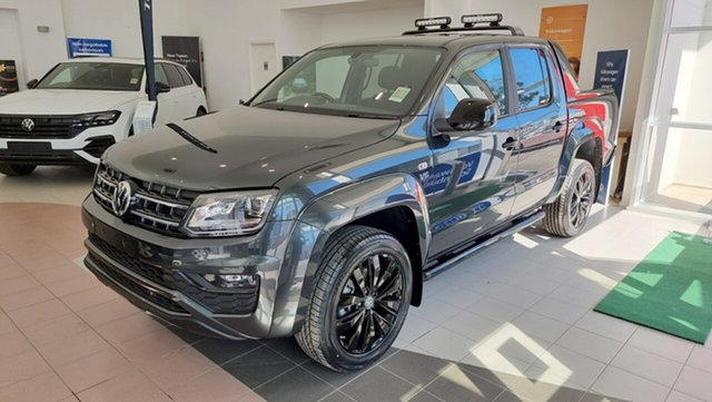 Demo Volkswagen Amarok 2H MY20 TDI580S 4MOTION Perm Tanunda, 2020 Volkswagen Amarok 2H MY20 TDI580S 4MOTION Perm Carbon Steel Grey 8 Speed Automatic Utility