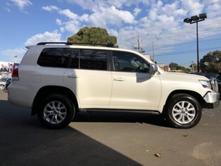2017 Toyota Landcruiser VDJ200R VX Crystal Pearl 6 Speed Sports Automatic Wagon.