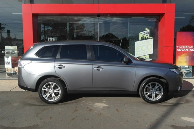 Pre-Owned Mitsubishi Outlander ZJ MY14 LS 2WD Swan Hill, 2013 Mitsubishi Outlander ZJ MY14 LS 2WD 6 Speed Constant Variable Wagon