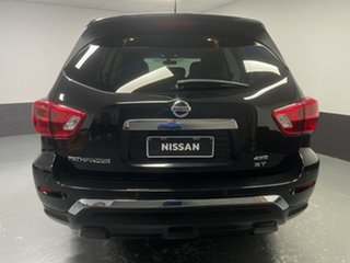 2018 Nissan Pathfinder R52 Series II MY17 ST X-tronic 2WD Diamond Black 1 Speed Constant Variable