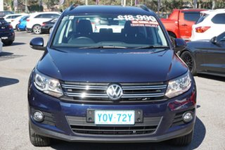 2013 Volkswagen Tiguan 5N MY13.5 132TSI DSG 4MOTION Pacific Blue 7 Speed.