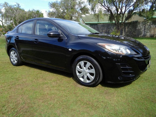 Used Mazda 3 BL10F1 MY10 Neo Activematic Kippa-Ring, 2010 Mazda 3 BL10F1 MY10 Neo Activematic Black 5 Speed Sports Automatic Sedan