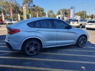 2018 BMW X4 F26 xDrive20d Coupe Steptronic Silver 8 Speed Automatic Wagon