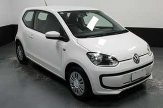 2013 Volkswagen UP! Type AA MY13 Candy White 5 Speed Manual Hatchback.