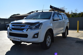2020 Isuzu D-MAX MY19 LS-M Crew Cab White 6 Speed Sports Automatic Utility