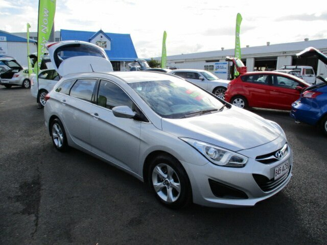 Used Hyundai i40 Tourer Woodridge, 2011 Hyundai i40 Active Tourer Silver 6 Speed Automatic Wagon