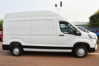 2020 LDV Deliver 9 MY21 Mid Roof MWB Blanc White 6 Speed Automatic Van