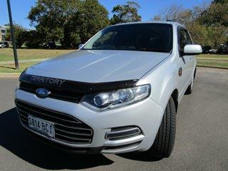2012 Ford Territory SZ TX (RWD) Silver 6 Speed Automatic Wagon