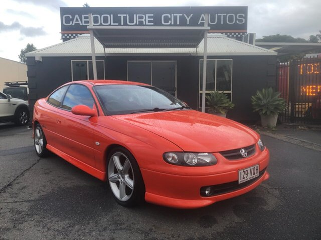 Used Holden Monaro V2 CV8 Morayfield, 2002 Holden Monaro V2 CV8 Orange 6 Speed Manual Coupe