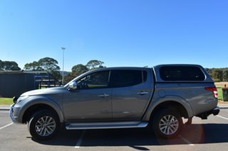 2018 Mitsubishi Triton MQ MY18 GLS Double Cab Grey 6 Speed Manual Utility