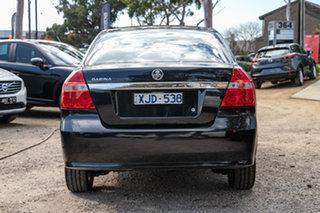 2009 Holden Barina TK MY10 Black 4 Speed Automatic Sedan
