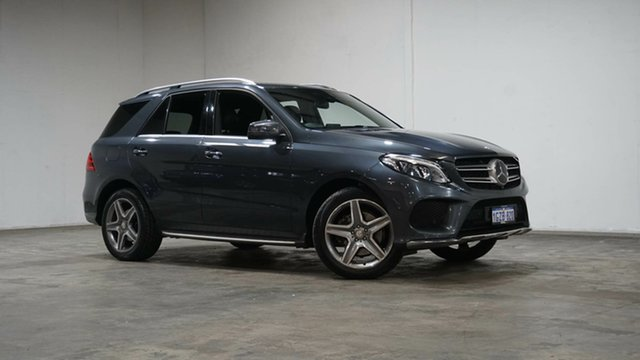 Used Mercedes-Benz GLE-Class W166 GLE250 d 9G-Tronic 4MATIC Welshpool, 2016 Mercedes-Benz GLE-Class W166 GLE250 d 9G-Tronic 4MATIC Grey 9 Speed Sports Automatic Wagon