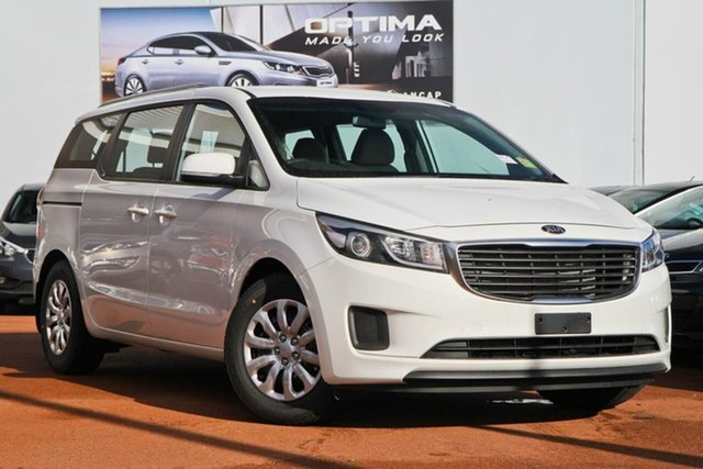 Used Kia Carnival YP MY18 S Nunawading, 2018 Kia Carnival YP MY18 S White 6 Speed Sports Automatic Wagon