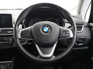 2015 BMW 218d F45 Active Tourer Sport Line Red 8 Speed Automatic Wagon