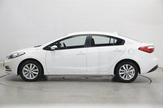 2015 Kia Cerato YD MY15 S Premium Clear White 6 Speed Sports Automatic Sedan.