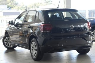 2021 Volkswagen Polo AW MY21 70TSI DSG Trendline Black 7 Speed Sports Automatic Dual Clutch.