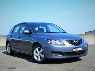 2008 Mazda 3 BK10F2 Neo Grey 4 Speed Sports Automatic Hatchback.