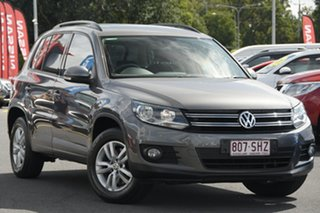 2012 Volkswagen Tiguan 5N MY12.5 132TSI Tiptronic 4MOTION Pacific Grey 6 Speed Sports Automatic.