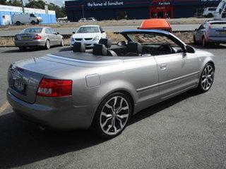 2005 Audi A4 B6 Cabriolet Grey 6 Speed CVT Multitronic Cabriolet.