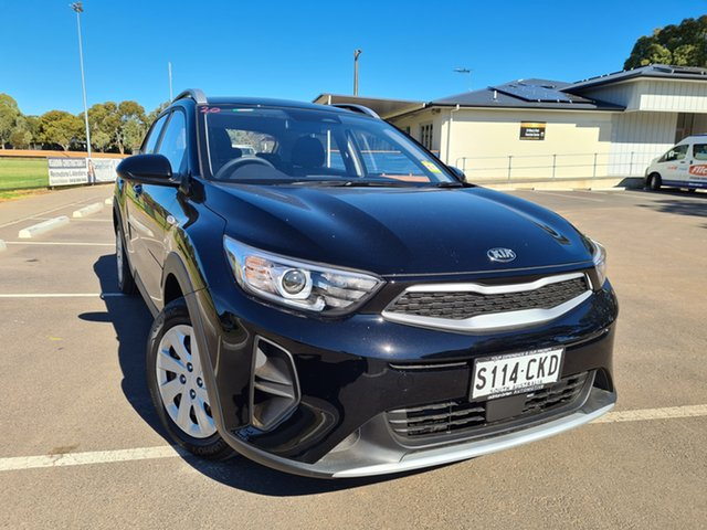 Demo Kia Stonic YB MY21 S FWD St Marys, 2021 Kia Stonic YB MY21 S FWD Aurora Black 6 Speed Automatic Wagon