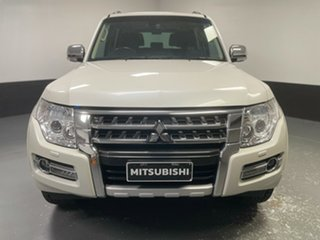 2017 Mitsubishi Pajero NX MY18 Exceed White 5 Speed Sports Automatic Wagon.