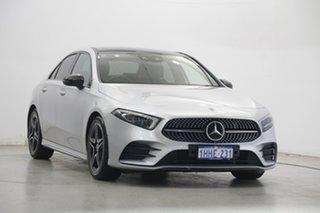 2019 Mercedes-Benz A-Class V177 A200 DCT Silver 7 Speed Sports Automatic Dual Clutch Sedan